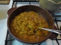 レンズ豆カレー