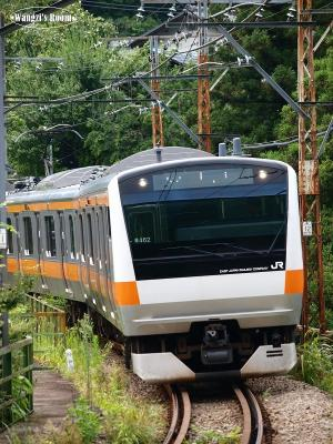 E233系 1308列車@川井駅