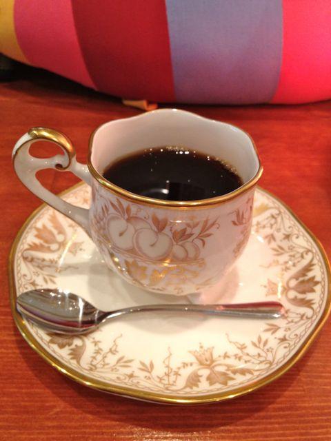コーヒー@おばあちゃんのカップ