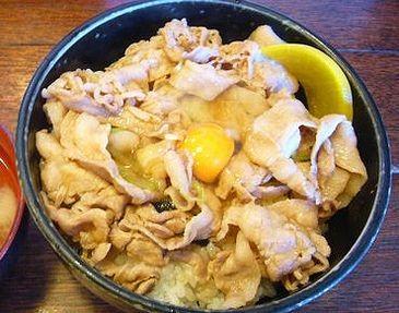 スタミナ丼 (4)