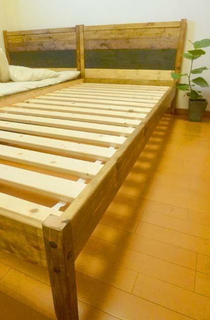 ベッド完成3