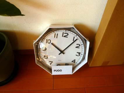 イケア時計1