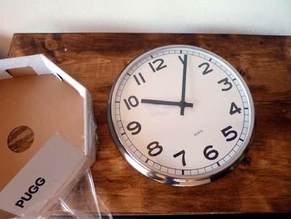 イケア時計2