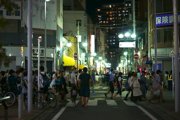 混み混みの松戸駅周辺