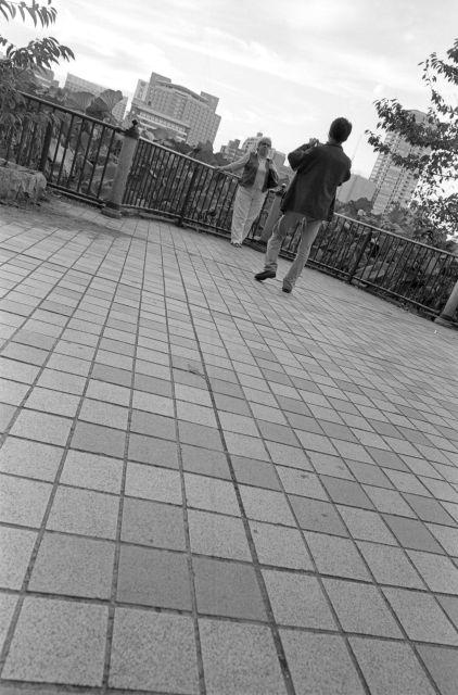 カップル@不忍池02d
