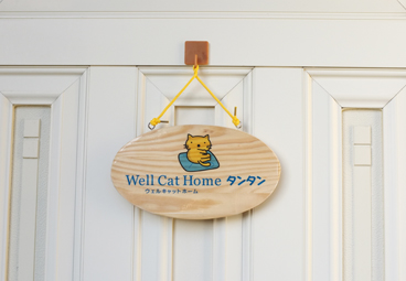 Well Cat Home タンタンの玄関