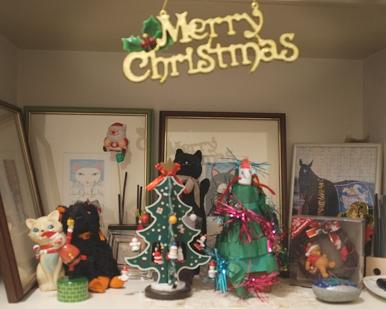 K野様が作った玄関のメリー・クリスマス!