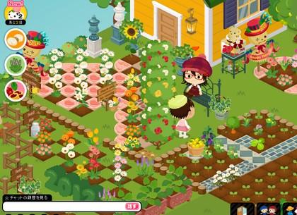 トラッチママの庭