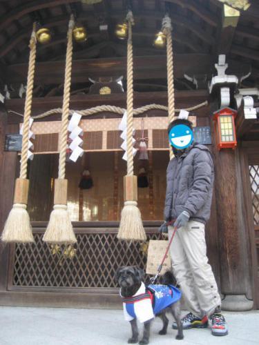 130106ふうたと護王神社③
