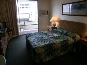 宿泊ホテルの部屋