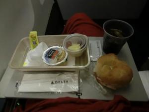飛行機軽食