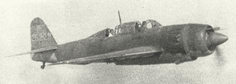 艦上爆撃機「彗星」43型_D4Y4