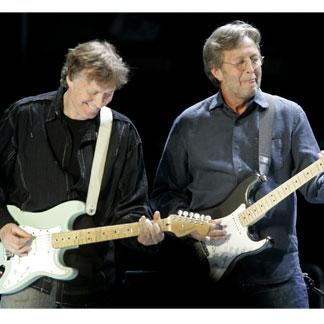 Clapton and Winwood