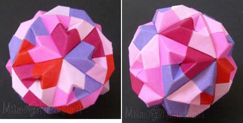 簡単 折り紙 折り紙 くす玉 ユニット : xkusudamax.blog.fc2.com