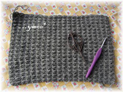 模様編み 失敗