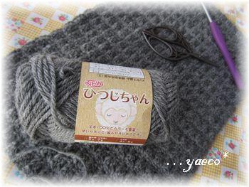 模様編み 主毛糸
