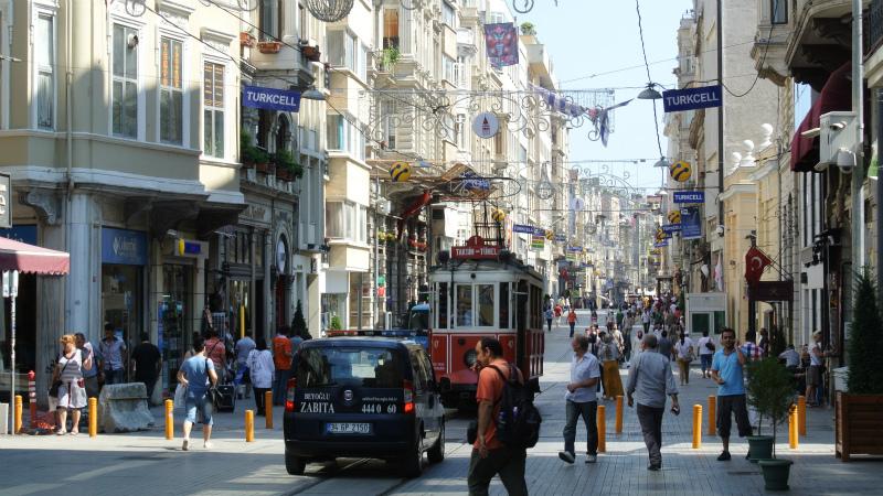 イスタンブール路面電車