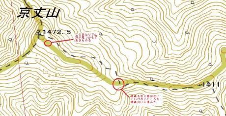 re0京丈山地図(山頂切り抜き)