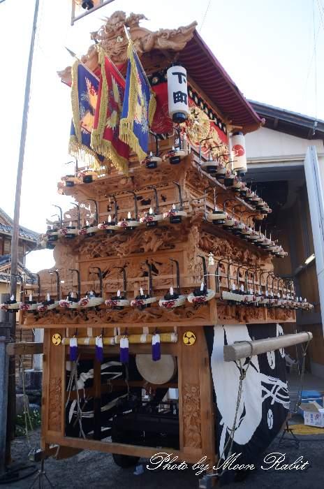 下町屋台蔵 涼月寺庚申堂 石岡神社祭礼 西条祭り2013 愛媛県西条市氷見