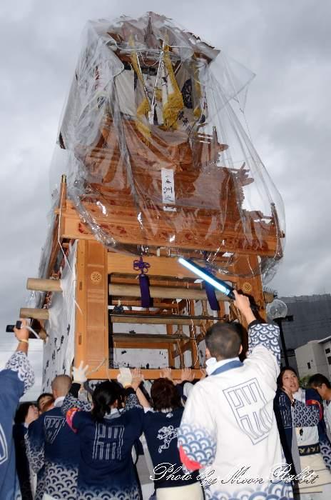 洲之内屋台(洲の内だんじり) 御殿前 西条祭り2013 伊曽乃神社祭礼