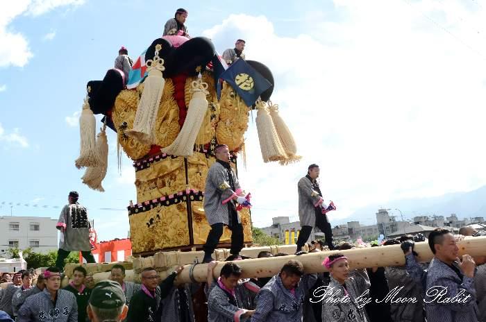 松神子太鼓台 国領川河川敷公園かきくらべ 新居浜太鼓祭り2013