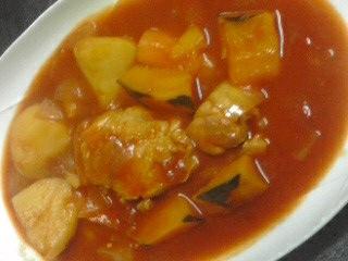 120414ピリ辛トマト煮