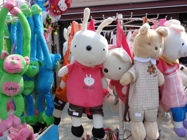 2013年5月4日 ソウル大公園 うさぎの人形