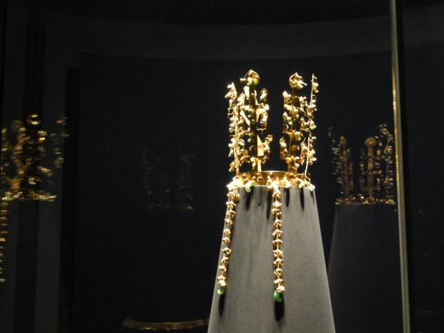 2014年1月24日 中央博 新羅 金冠