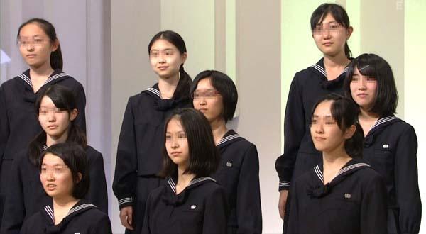豊島岡女子学園中学冬セーラー服