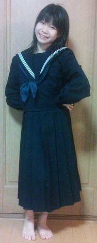 青SHUN学園 佐々木もか 九セラ 九州型セーラー服