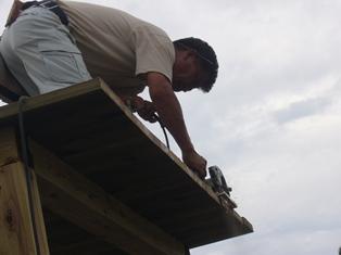 屋根の先端カット2