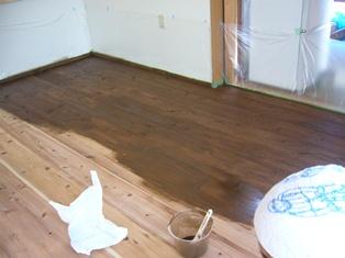 床一回塗り