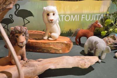 フェルトアニマル人形展3