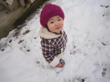 雪いっぱーい!!