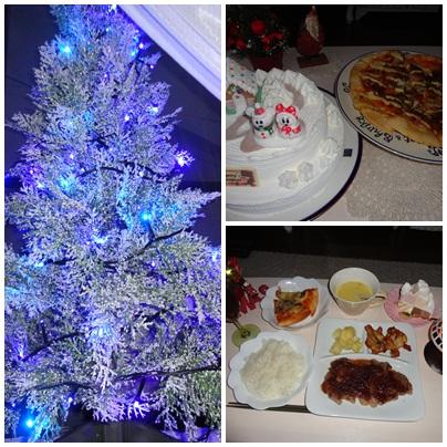 食事とツリー