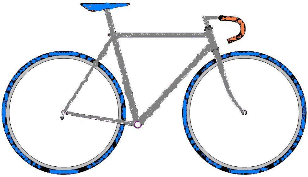 ロードバイク塗り絵2