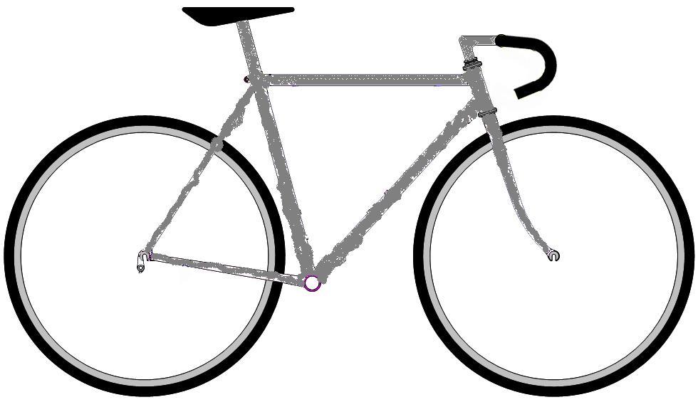 ロードバイク塗り絵