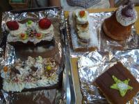 12月4日クックの森ケーキ1