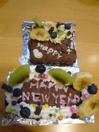 12月23日クックの森ケーキ2