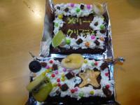 12月23日クックの森ケーキ1