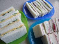 3月8日サンドイッチ