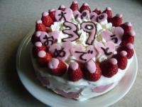 3月11日オパパ誕生日ケーキ