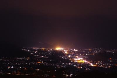湯楽里館からの夜景