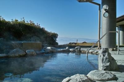 湯楽里館露天風呂