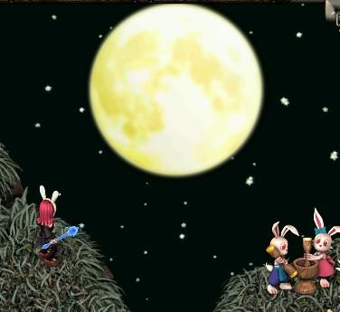月とうさぎと零牙