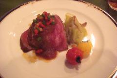熊野牛ロースのステーキじゃがいもの香り。
