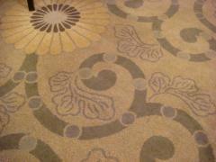 気に入ることが出来なかった絨毯