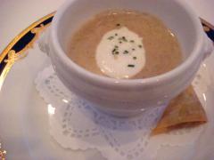 ~キノコのクリームスープ