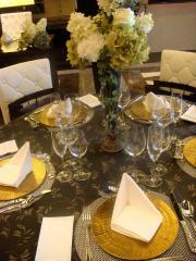 北新地 披露宴2-テーブルコーデ