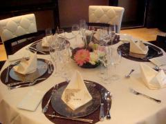 北新地 披露宴1-テーブルコーデ